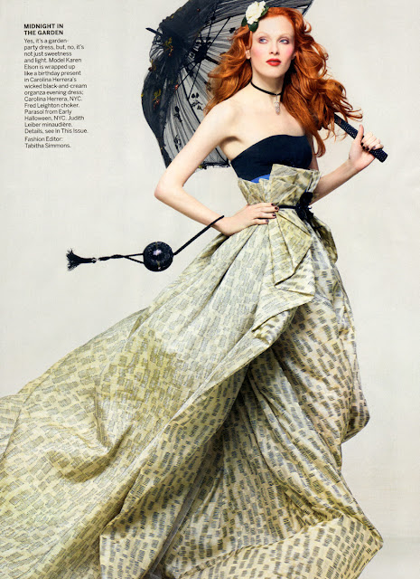 Model Karen Elson Vogue June 2011 HD Photo Shoot Pictures