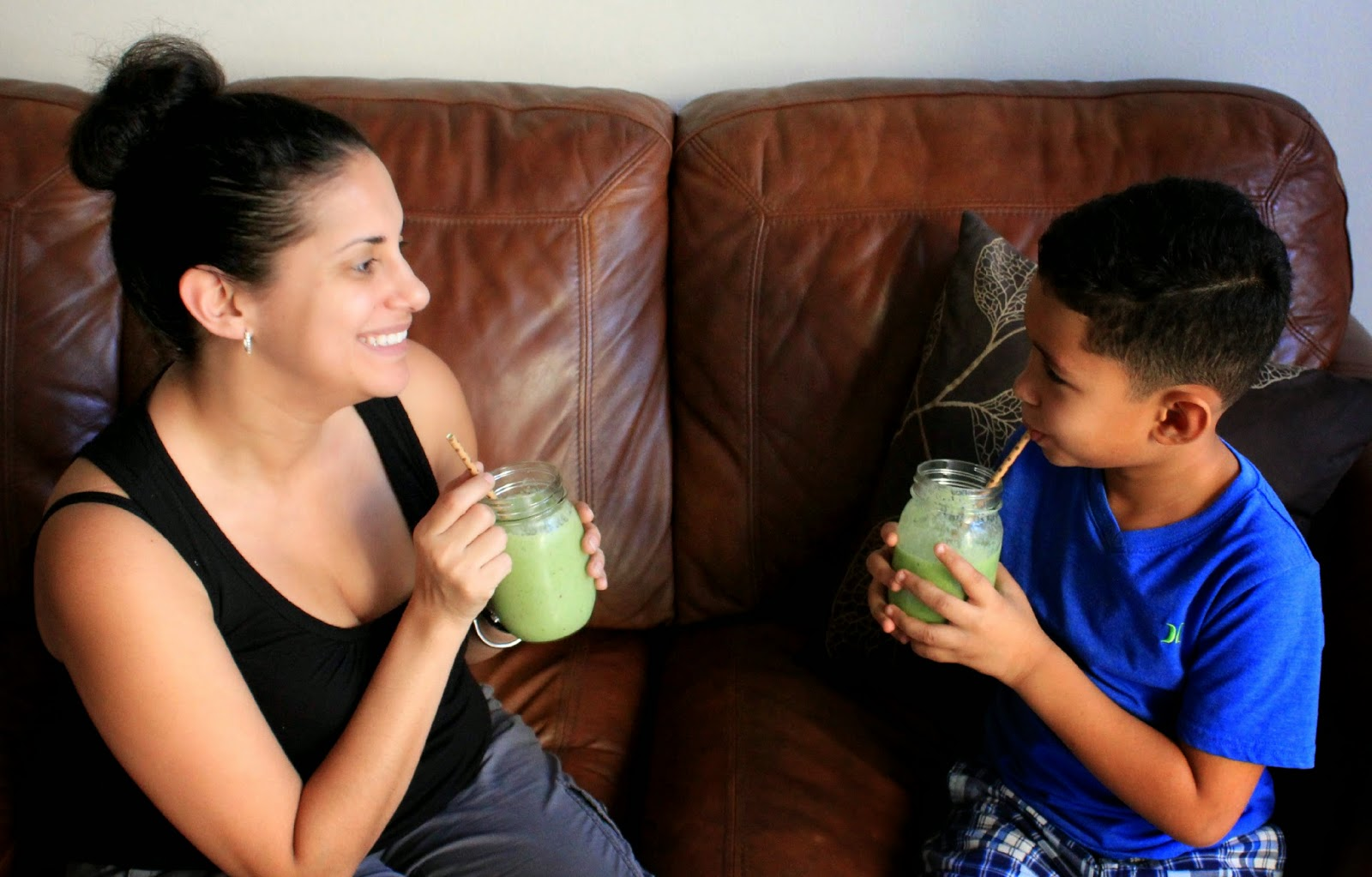 Start your day with a power smoothie! #MullerMoment #ad