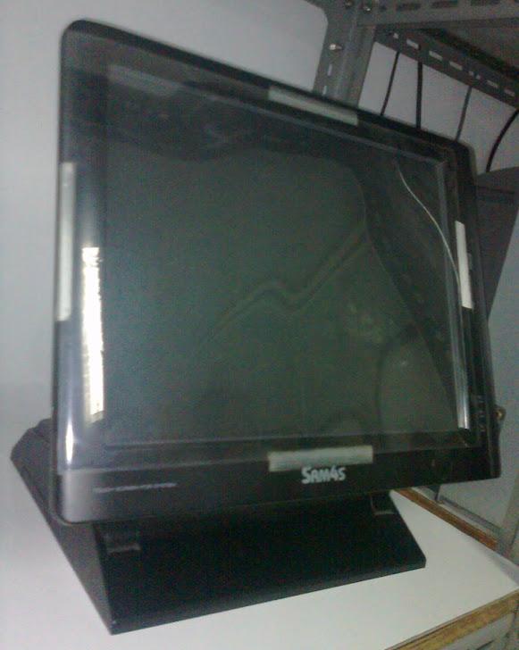 Mesin cash register 5000 PLU touch screen LCD display SAM4AS