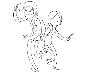 #10 The Last of Us Coloring Page