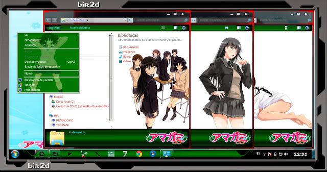 Amagami SS [ Theme Windows 7 ] 3