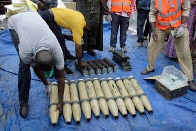 Army Discover Arms Warehouse In Kano