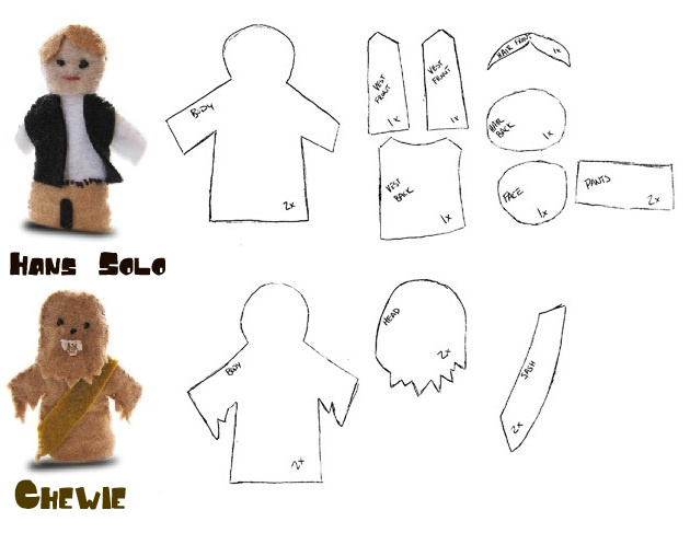 Free Star Wars Finger Puppet Pattern Make It Sing Inspiration Puppet Patterns