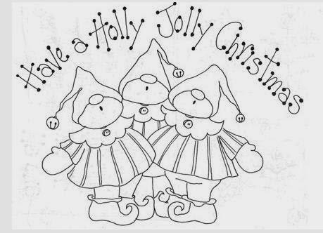 Dibujos navide os para pintar con los ni os mimundomanual - Dibujos navidenos para bordar ...