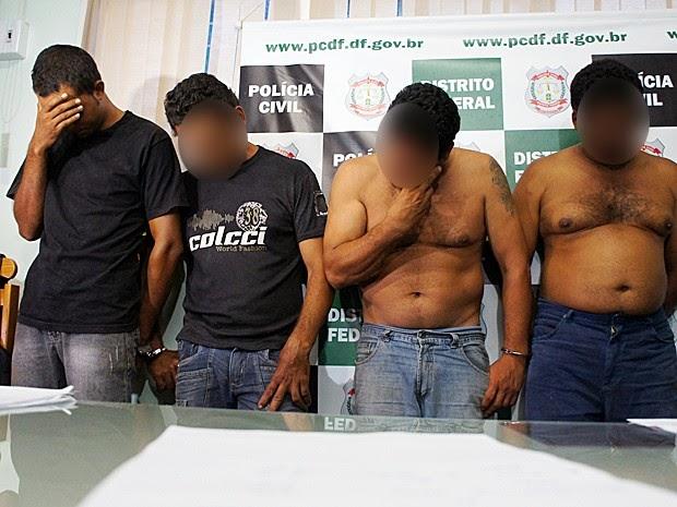 Quatro homens são presos por atirar contra Acampamento 15 de Agosto, em São Sebastião