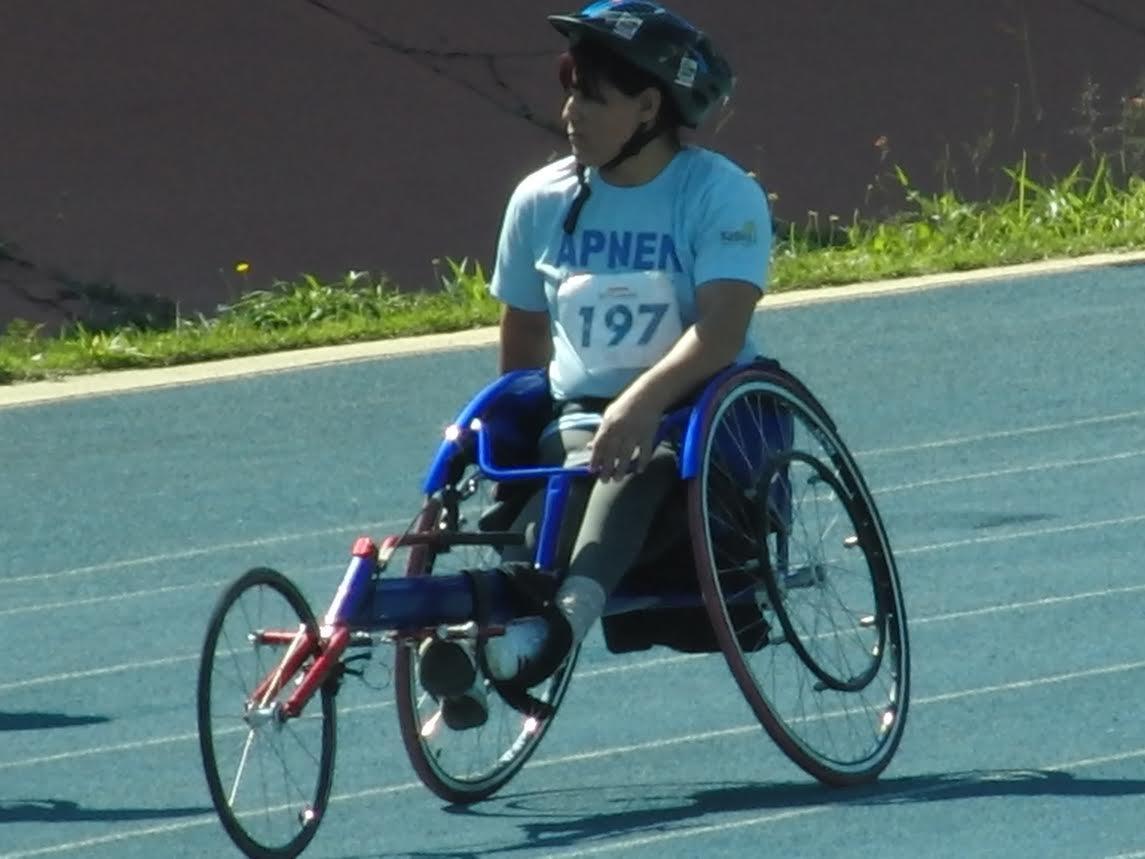 Paraatleta da APNEN