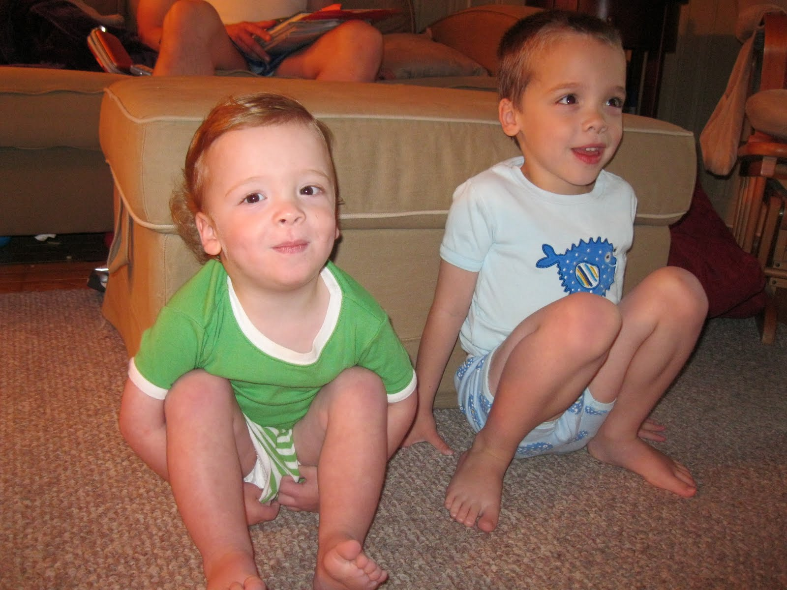 diaper boys 2 squeaky clean boys watching