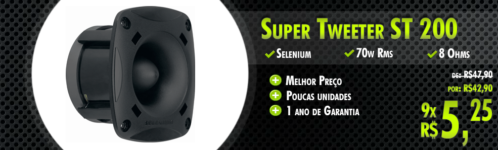Super Tweeter ST 200