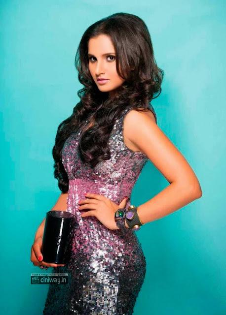 Sania Mirza Photo Shoot for Exhibit India Magazine August 2013