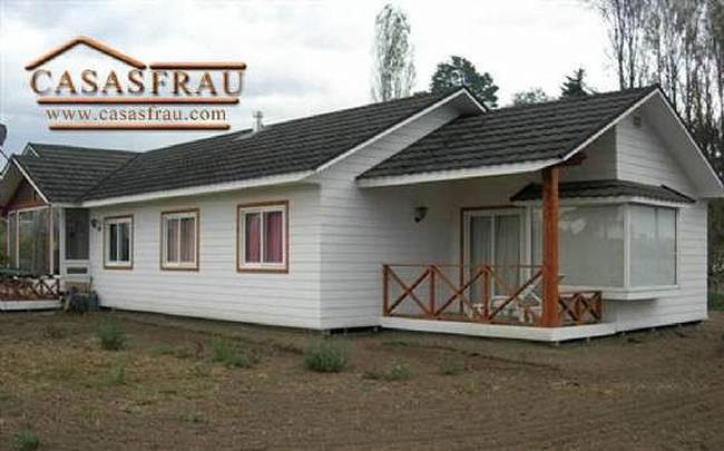 Arquitectura de casas casas y caba as chilenas - Tipos de casas prefabricadas ...