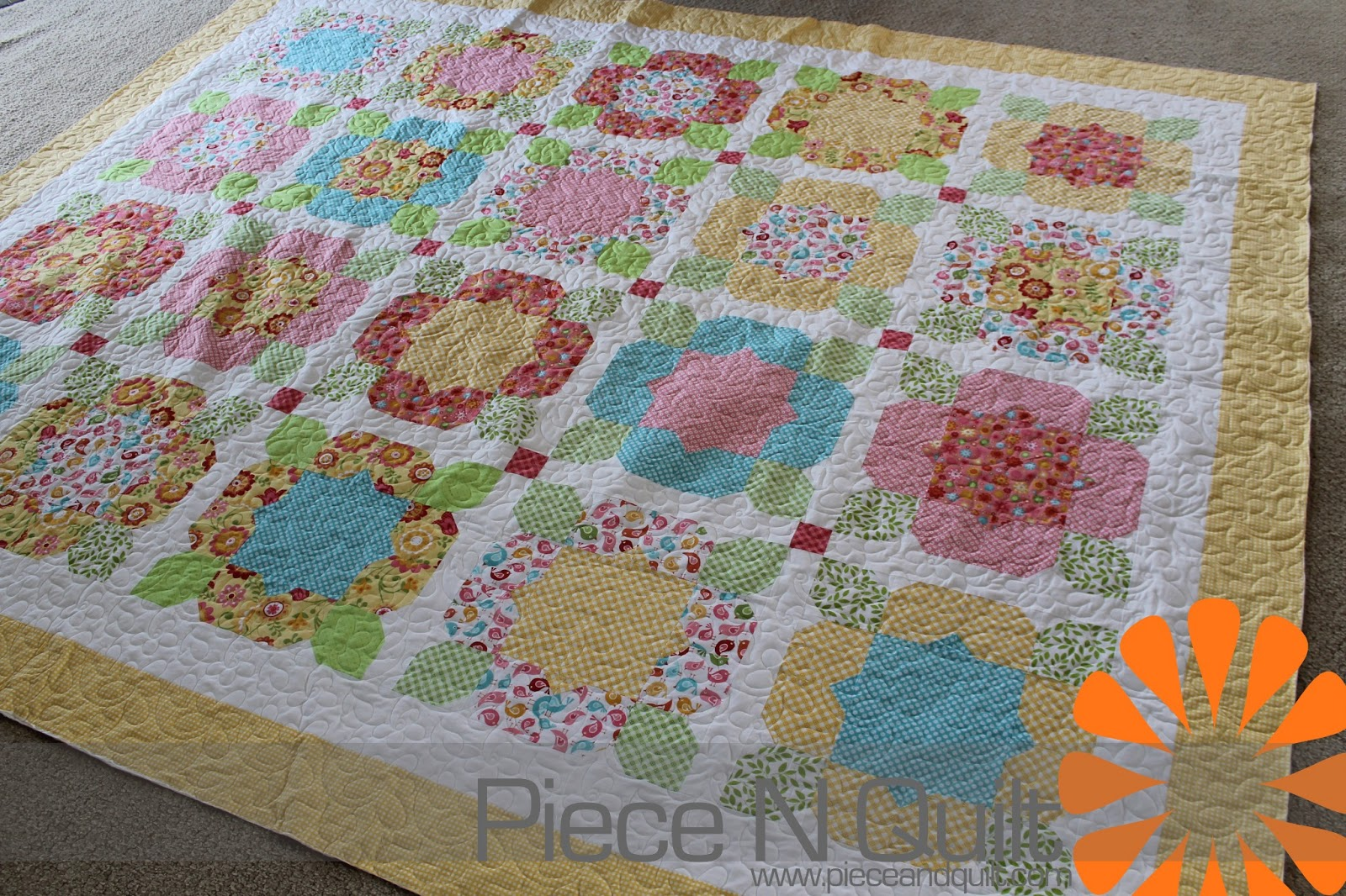 Piece N Quilt Flower Girl Quilt
