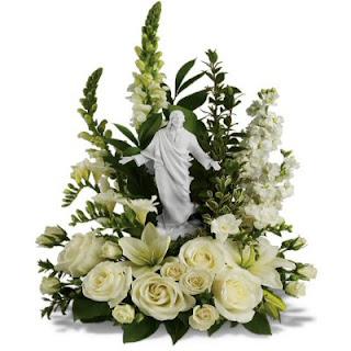 Order a Christian Floral Arrangement