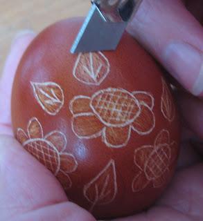 яйца пасха драпанка