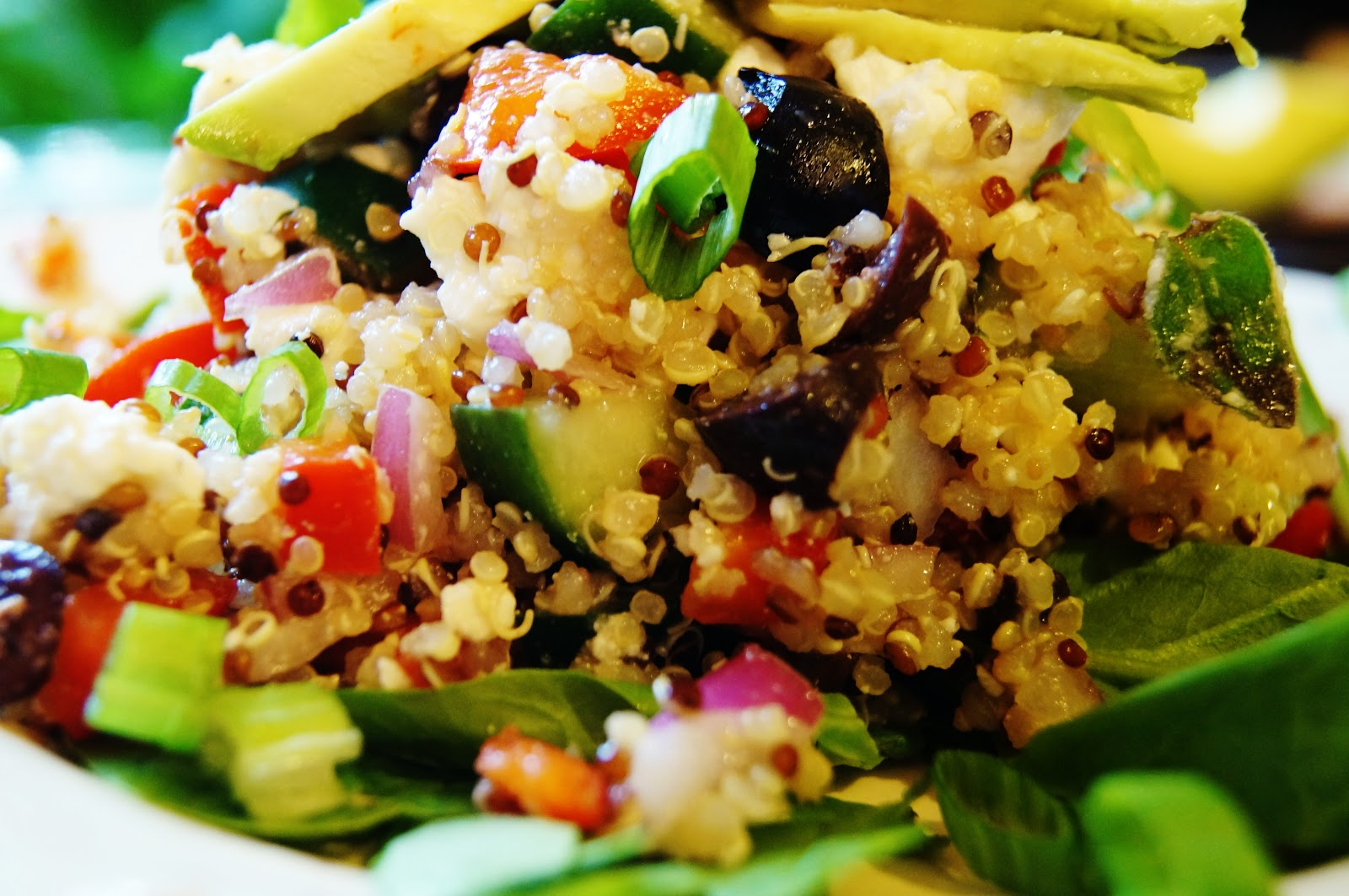 love the simplicity of grain salads. They can be made in large ...