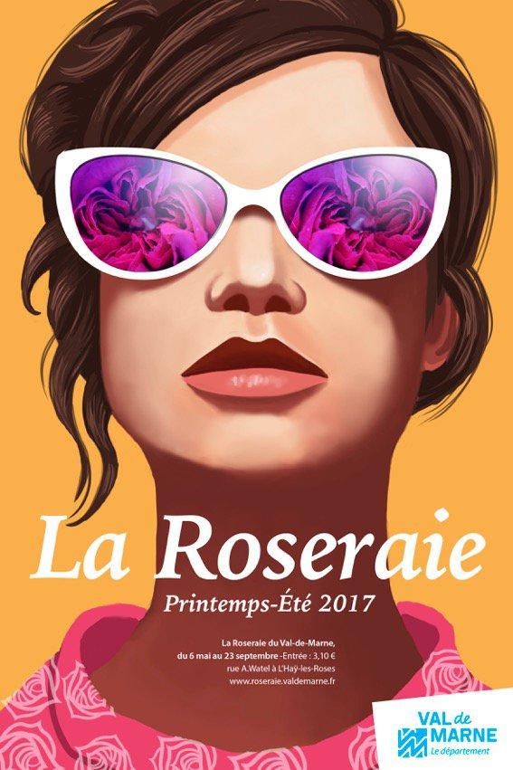 Roses Anciennes à L'Haÿ-les-Roses (94)