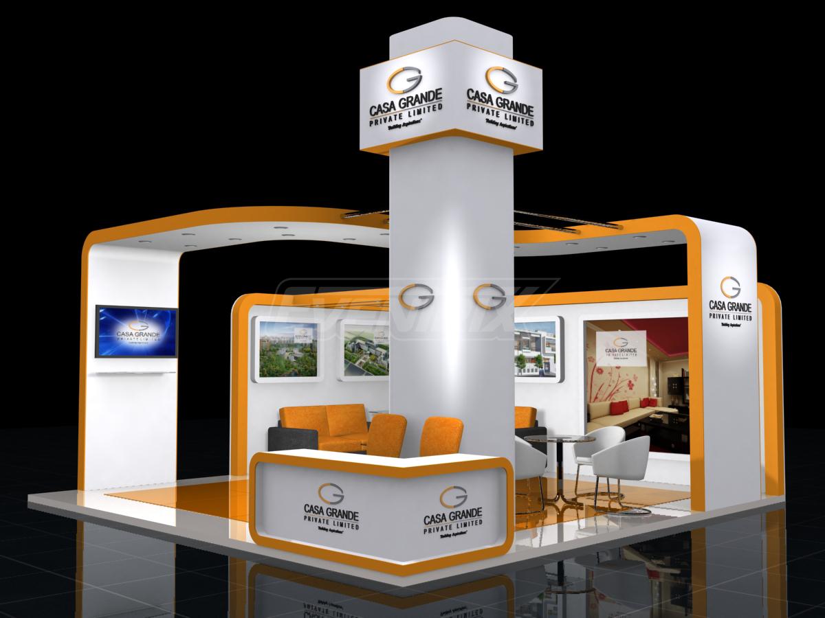 3d Exhibition Stall Design Job : Eventrix solutions casa grande
