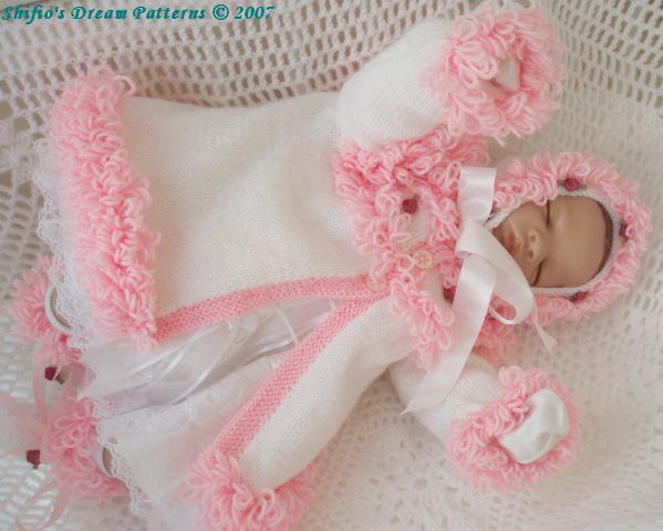 free knitting pattern baby clothes 2012