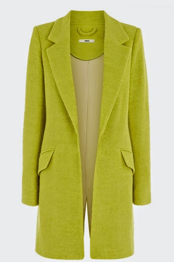 lime women wool coat