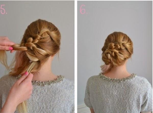 Belle coiffure sur cheveux mi long coiffure simple rapide blogspot produits tzitym - Coiffure simple a faire ...