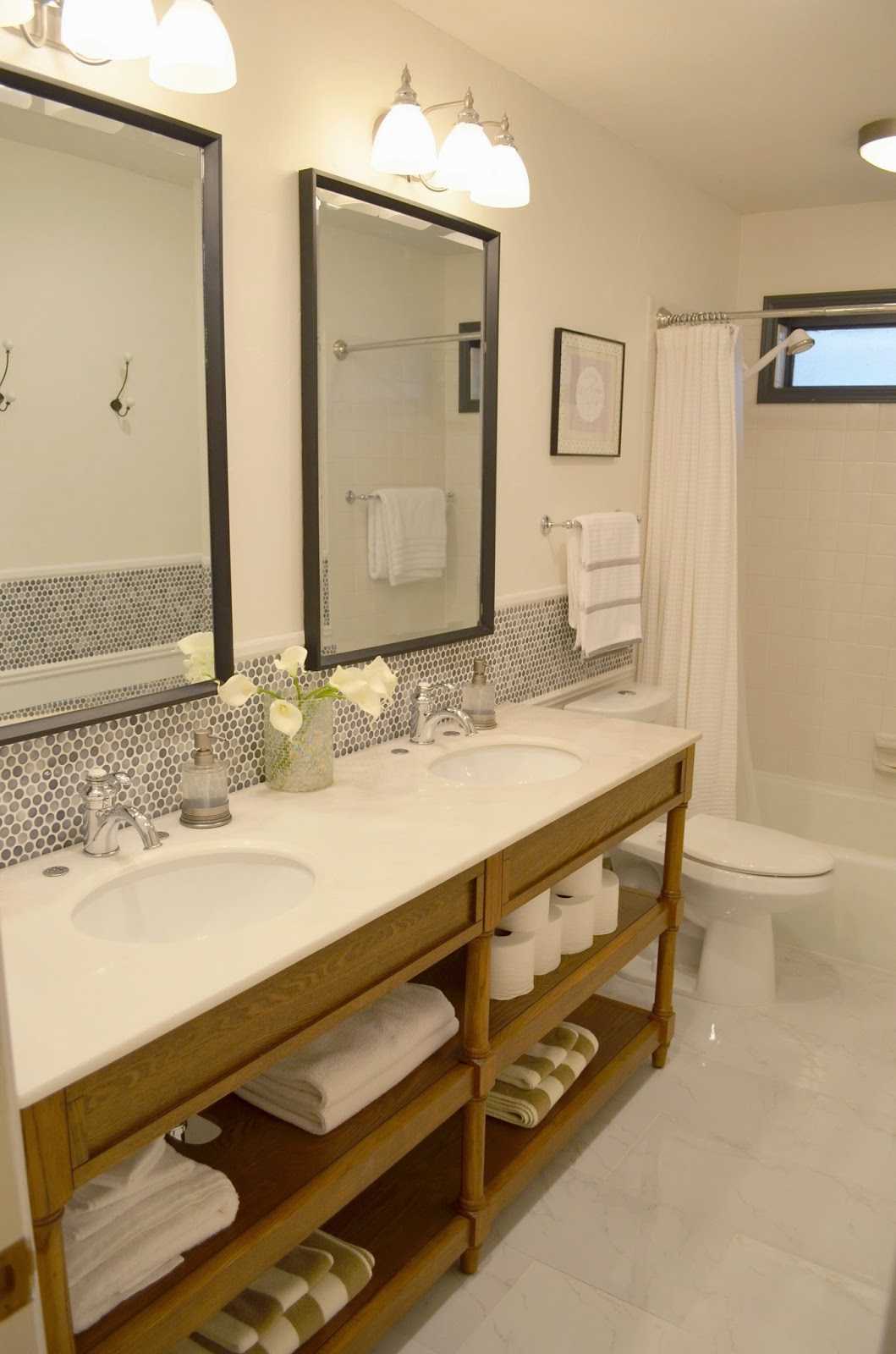 Awesome Reveal Guest Bathroom Makeover
