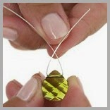 Wire Wrapped Triangle Bead Bail