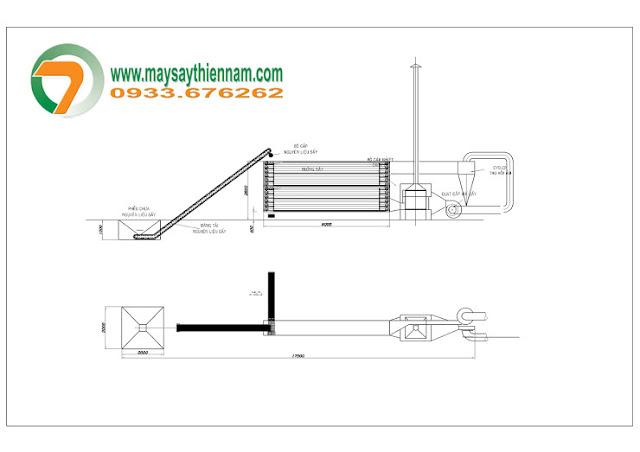 Thiết kế máy sấy băng tải công nghiệp