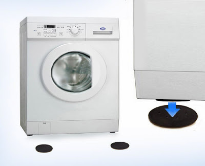 The extent to which a washing machine is loud whilst in use is exacerbated by vibrations which go down through your floor, increasing that droning noise ...