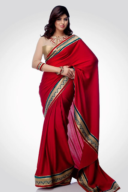 Chicboutique Satya Paul Embroidered Sarees  Indian Saree