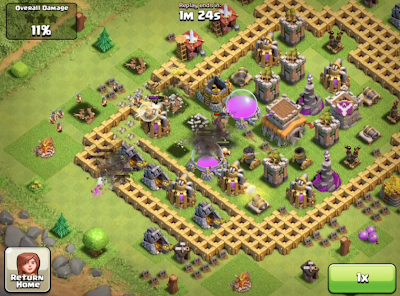Clash of Clans Witch Attack