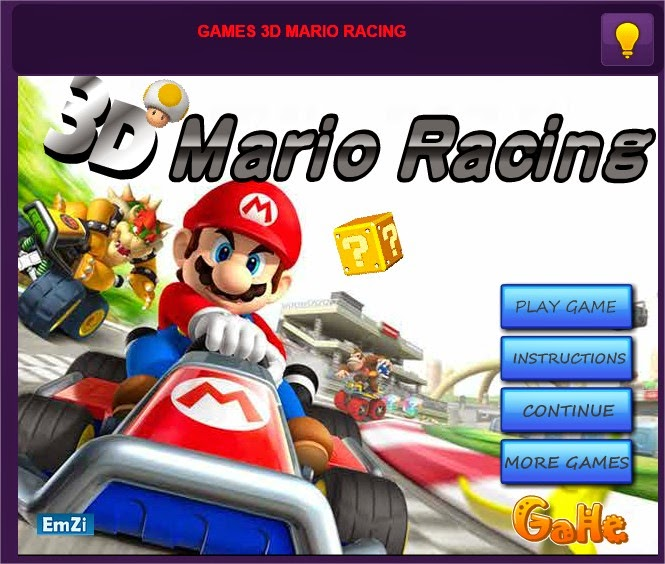 play free online games mario racing