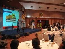 Acara Pengundian Bersama TRANS TV Di Gedung Indosat