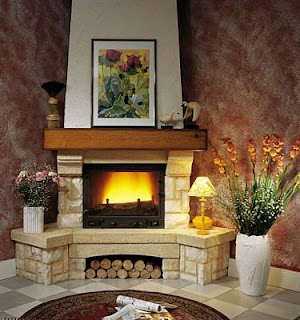 Fotos de chimeneas chimeneas rusticas esquina - Chimeneas en esquina ...