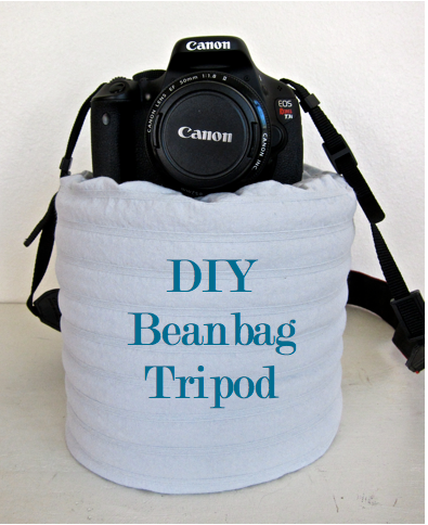 Do it yourself divas diy beanbag tripod right now in my life a tripod isnt exactly in the budget i want to be able to be in some pictures with my kids instead of always being behind the camera solutioingenieria Images