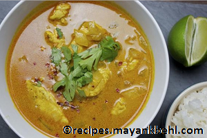 authentic yellow-chicken-curry recipe
