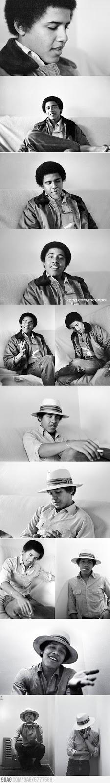 Barack Obama In 1980'S
