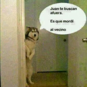 Juan te buscan afuera