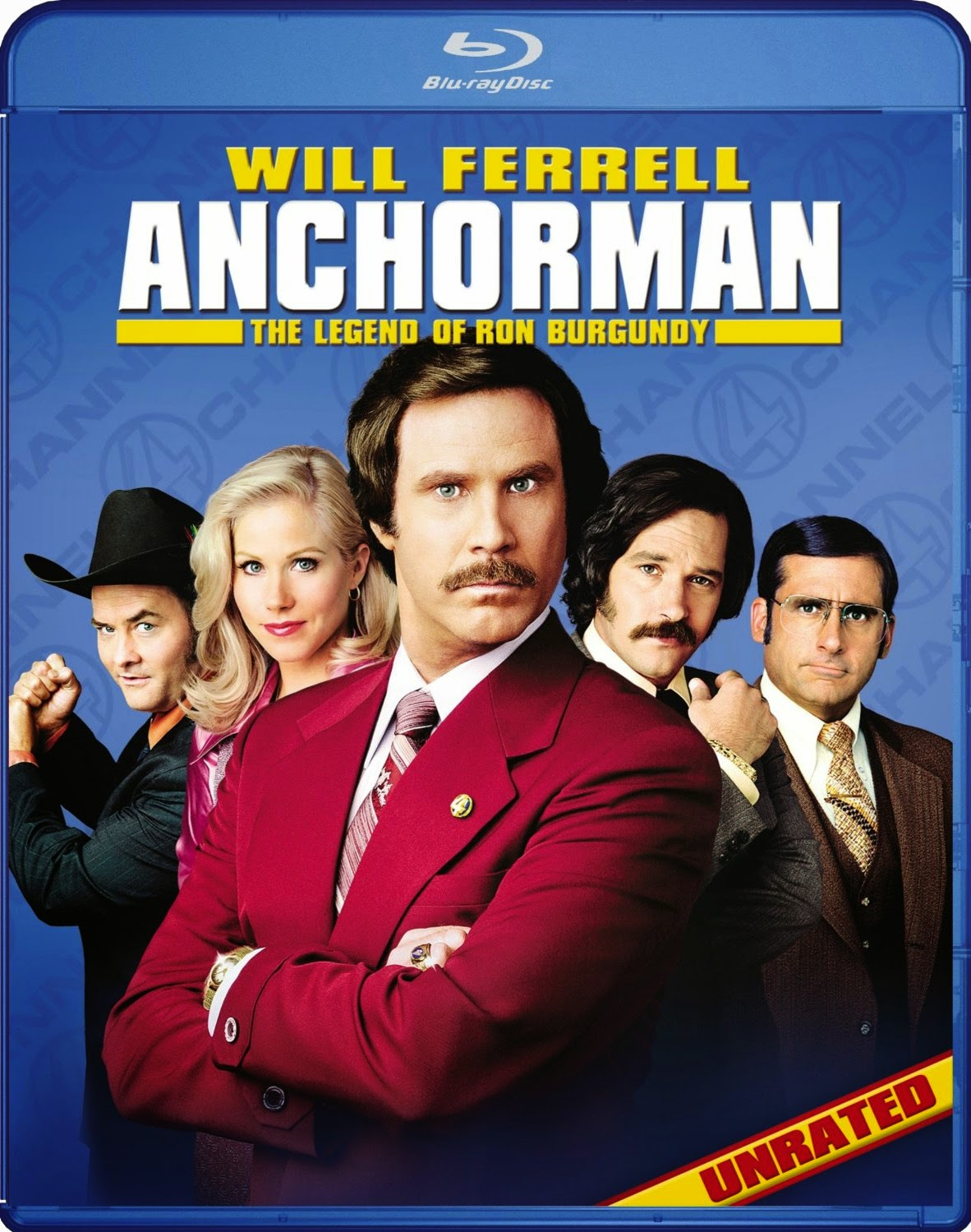 Anchorman: The Legend of Ron Burgundy (2004) ταινιες online seires xrysoi greek subs
