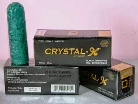 crystal-x asli