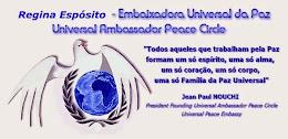 Regina Espósito Embaixadora da Paz