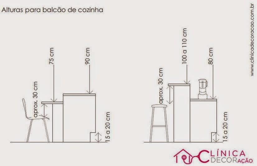 Armario Rustico ~ Clínica DECORaç u00e3o Balc u00e3o de cozinha qual a altura ideal?