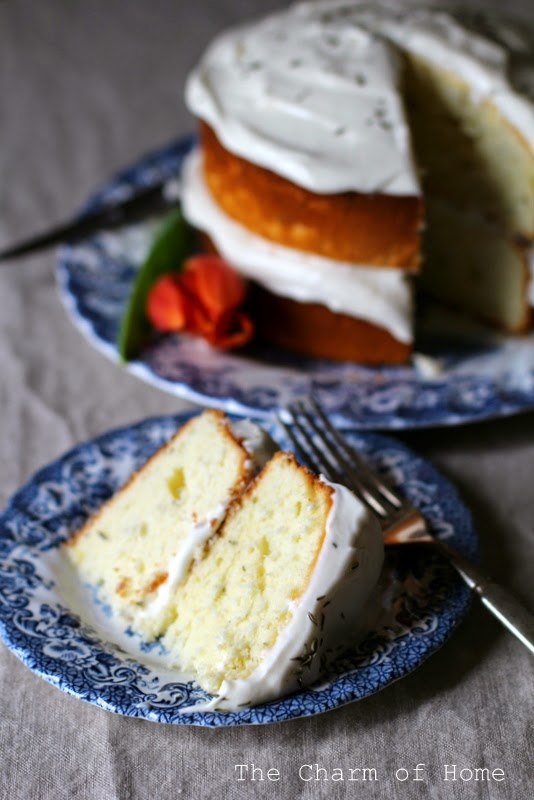 Lemon Thyme Yogurt Cake: The Charm of Home