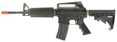 GR WE M4 GBB AirSplats Memorial Day Special: Military Style M4 Airsoft Guns