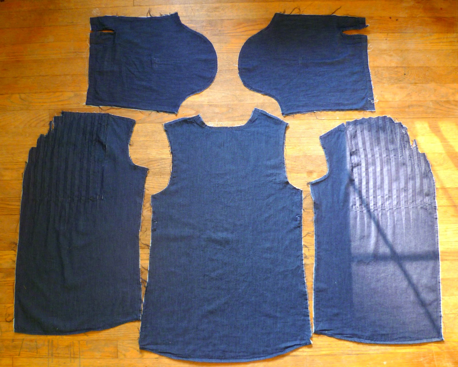Tunic to Prefontaine Shorts Refashion by Hey It's SJ