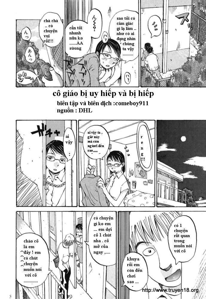 Cô Giáo B? Uy Hi?p va B? Hi?p - Oneshot-truyen-hentai-online
