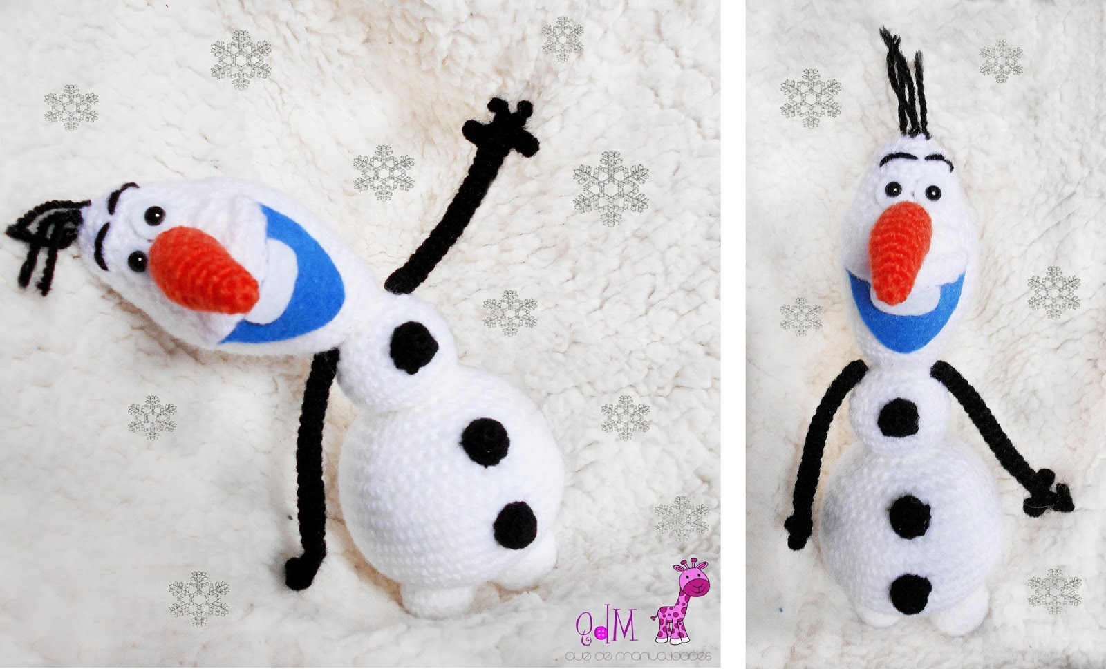 Amigurumi Olaf Tutorial : Crochet pattern for purse with doll ~ kalulu for .