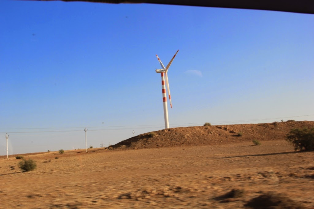 Windmills near Jaisalmer
