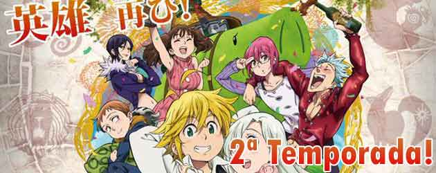 Anunciada a 2ª Temporada de Nanatsu no Taizai!