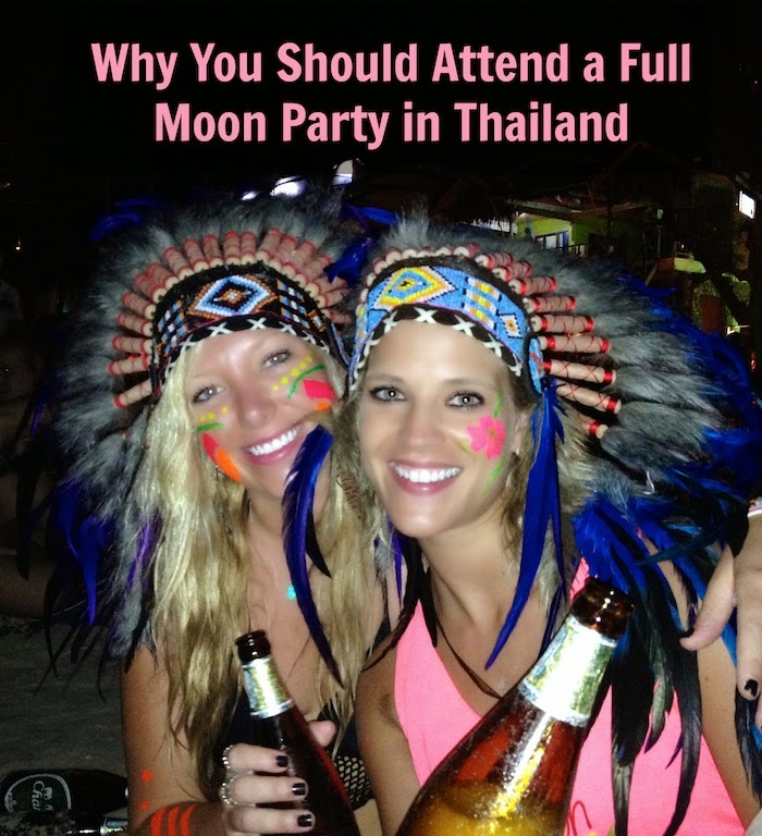 why you should attend full moon party