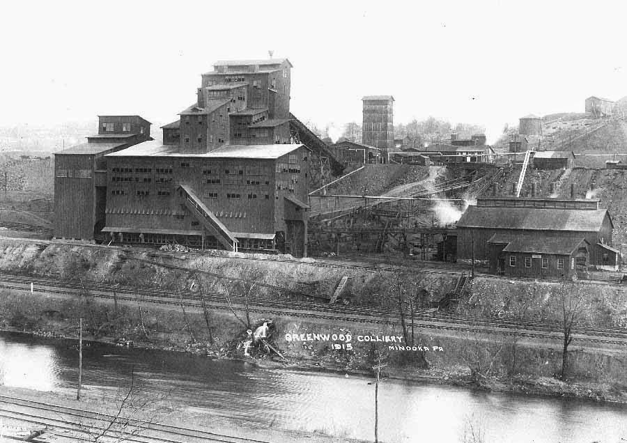 Greenwood Colliery, Minooka
