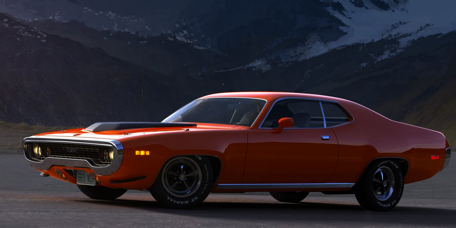 road runner 1971 muscle - photo #34